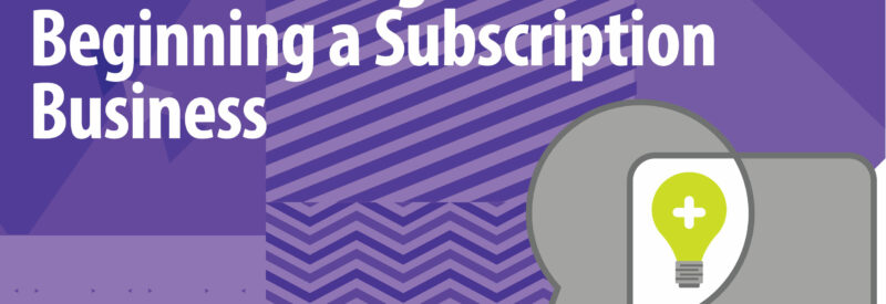 Subscription Brainstorming Business Ideas Article Header