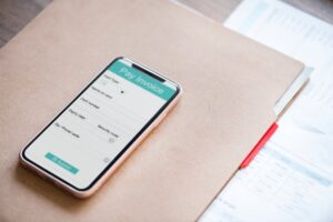 Phone with subscription box invoice