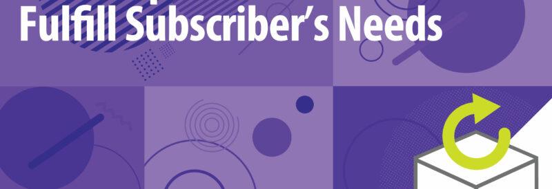Subscription Replenishment Service Article Header