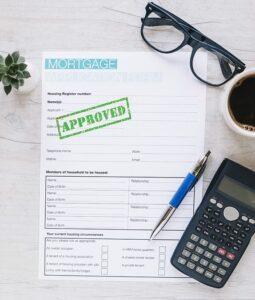 credit repair loan paperwork
