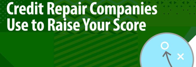 Credit Repair Tactics Article Header