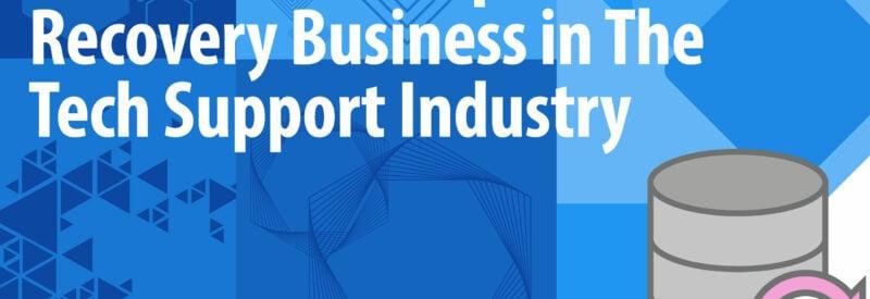 Tech Support Data Backup Article Header
