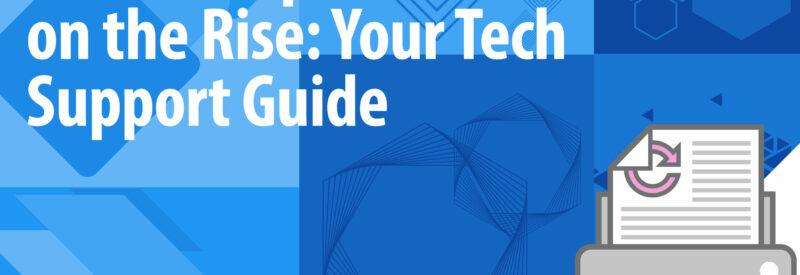 Tech Support Printer Repair Article Header
