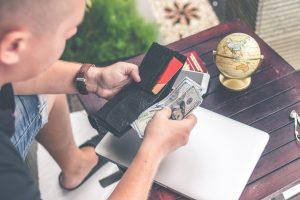 payment in a bail bondsman business