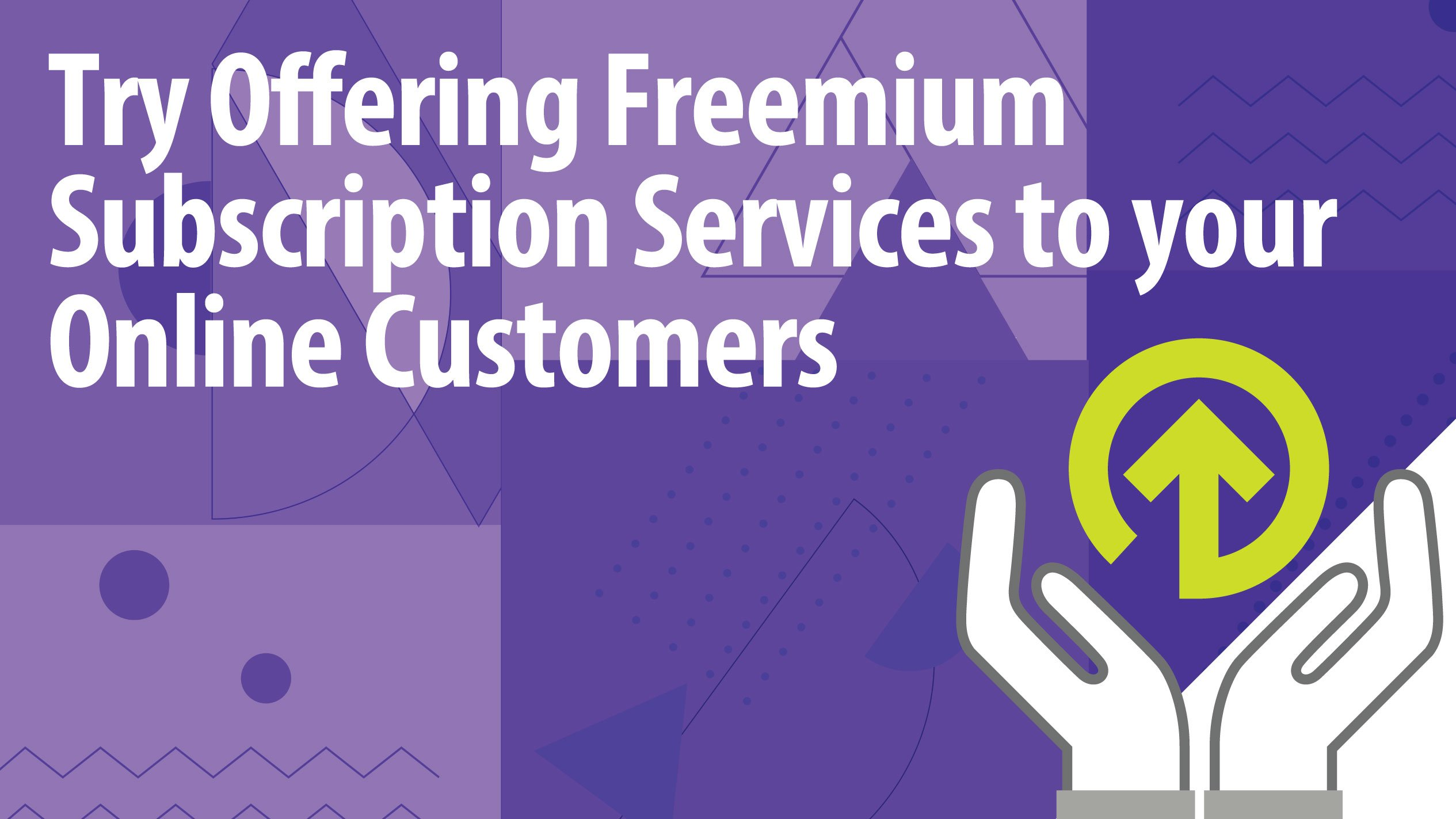 Try Offering Freemium Subscription Services to your Online Customers