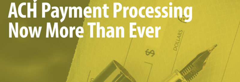 ACH Payment Processing Article Header