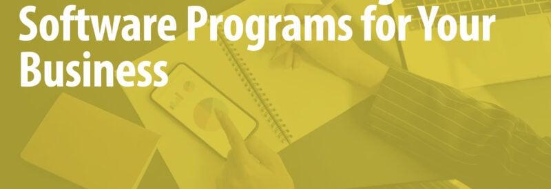 Accounting Software Article Header