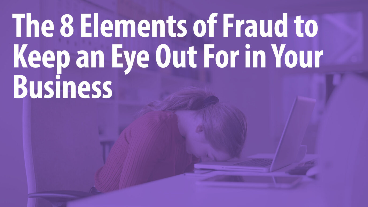 Elements of Fraud Article Header