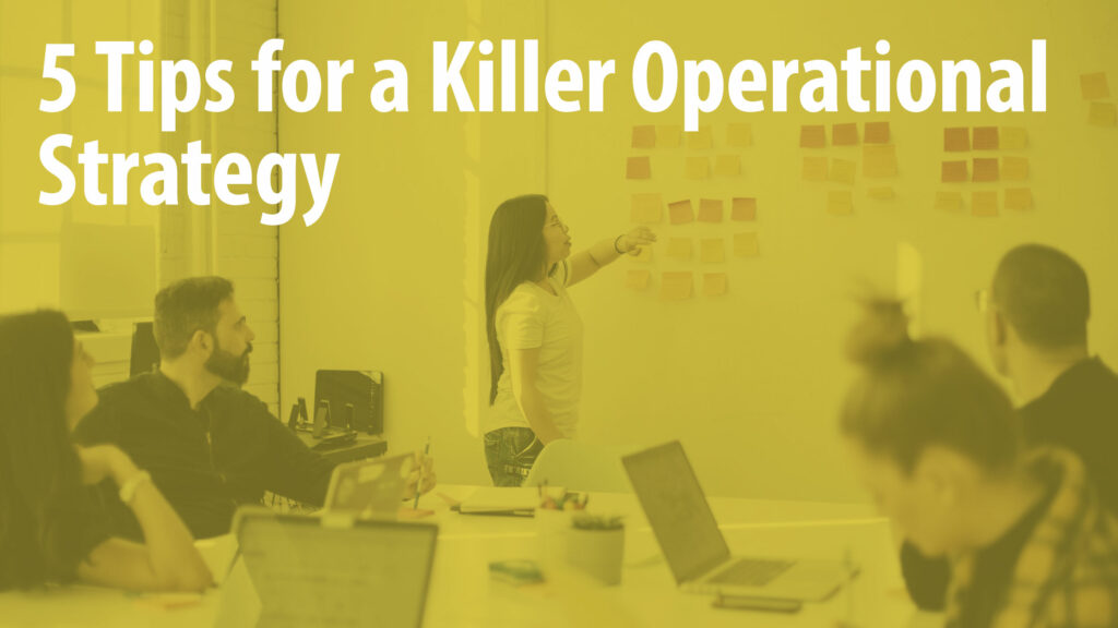 Operational Strategy Tips Article Header