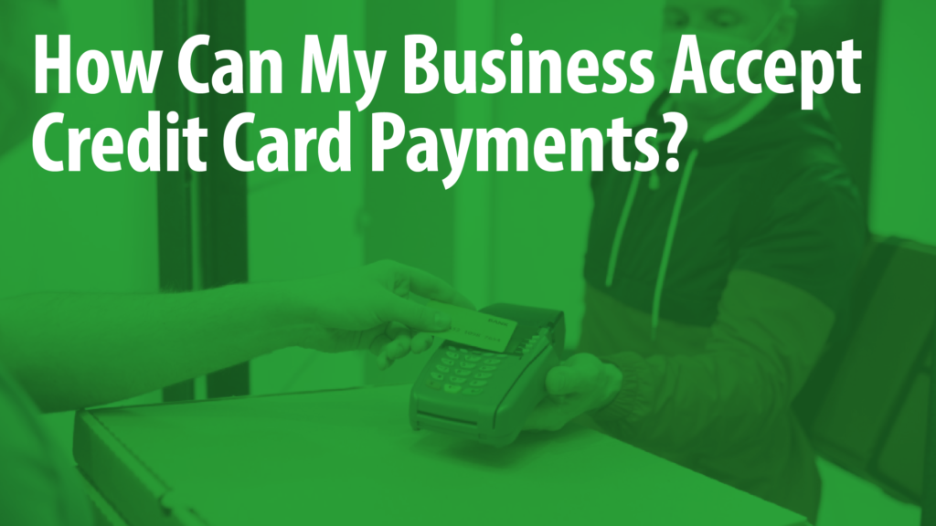 Accept Credit Card Payments Article Header