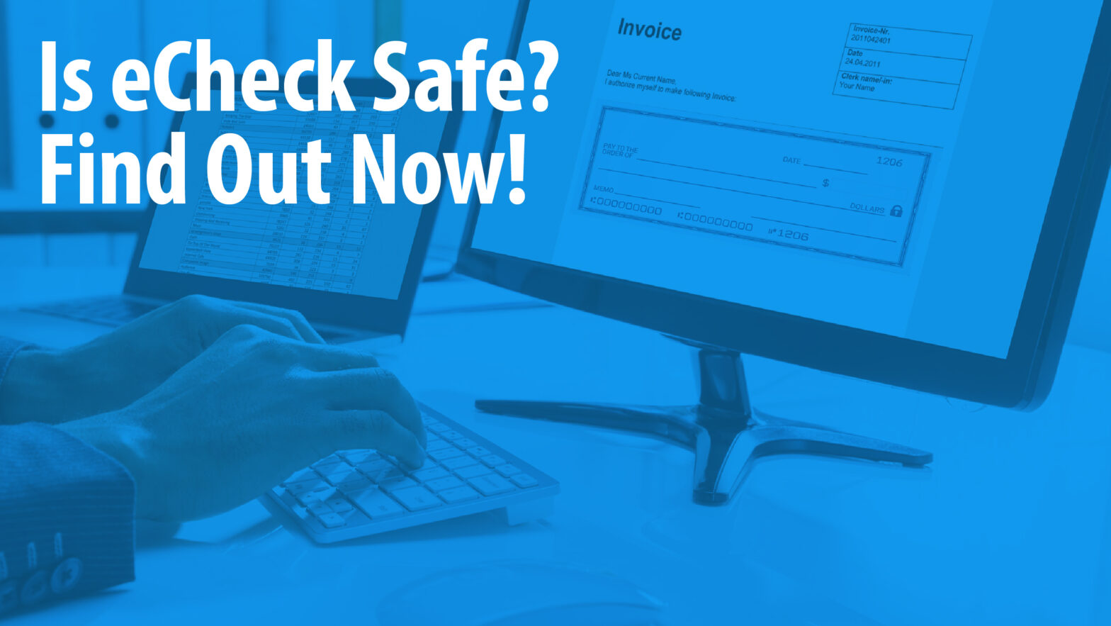 is echeck secure Article Header